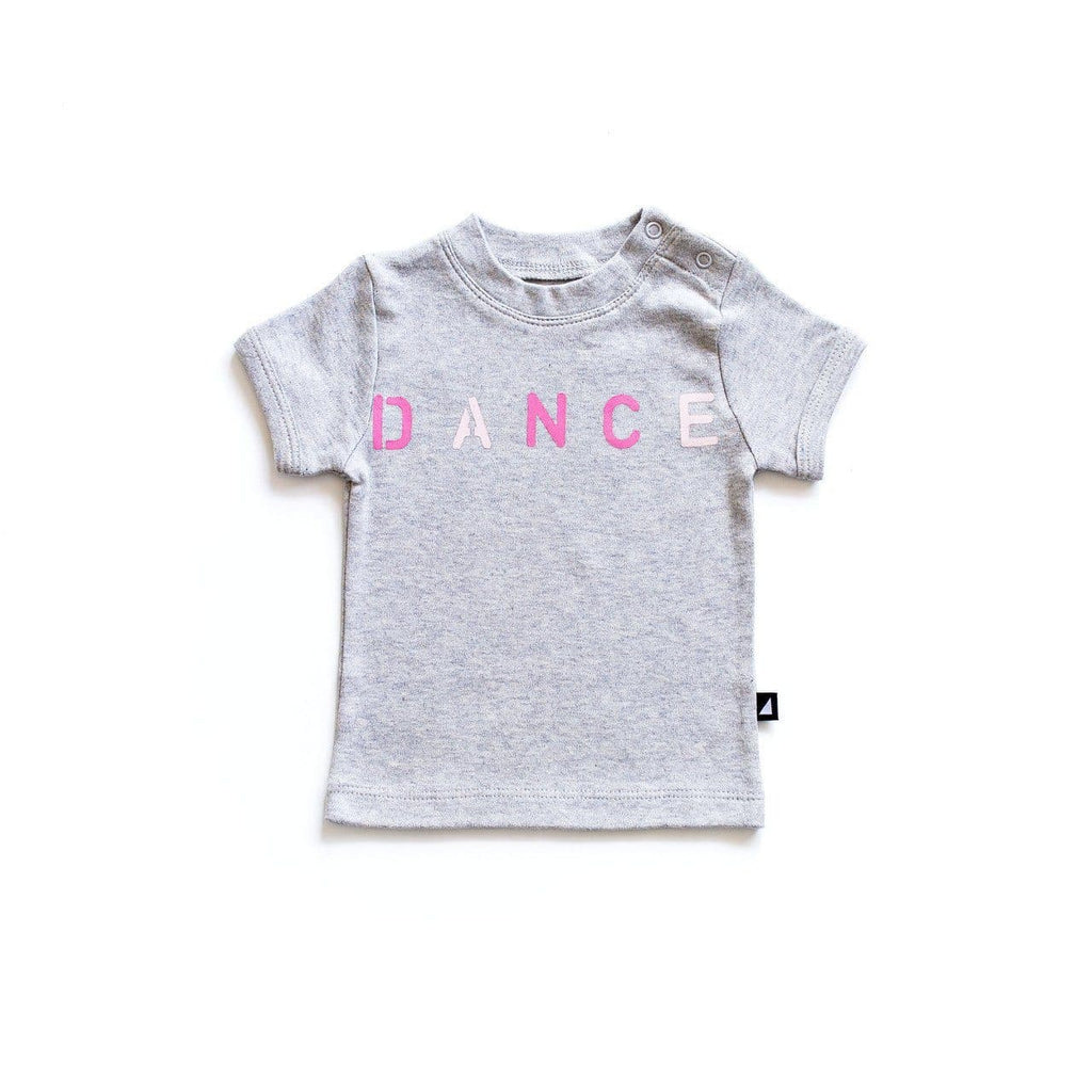 Anarkid Dance Tee - Grey Marl / Rose