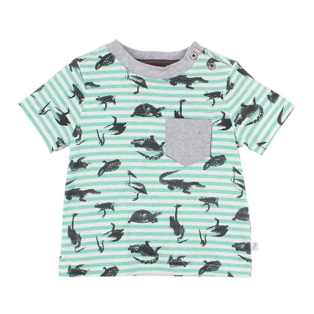FOX & FINCH Everglades Stripe Tee