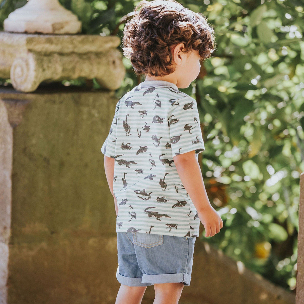 FOX & FINCH Everglades Stripe Tee- LIFEsyle PHOTO KID
