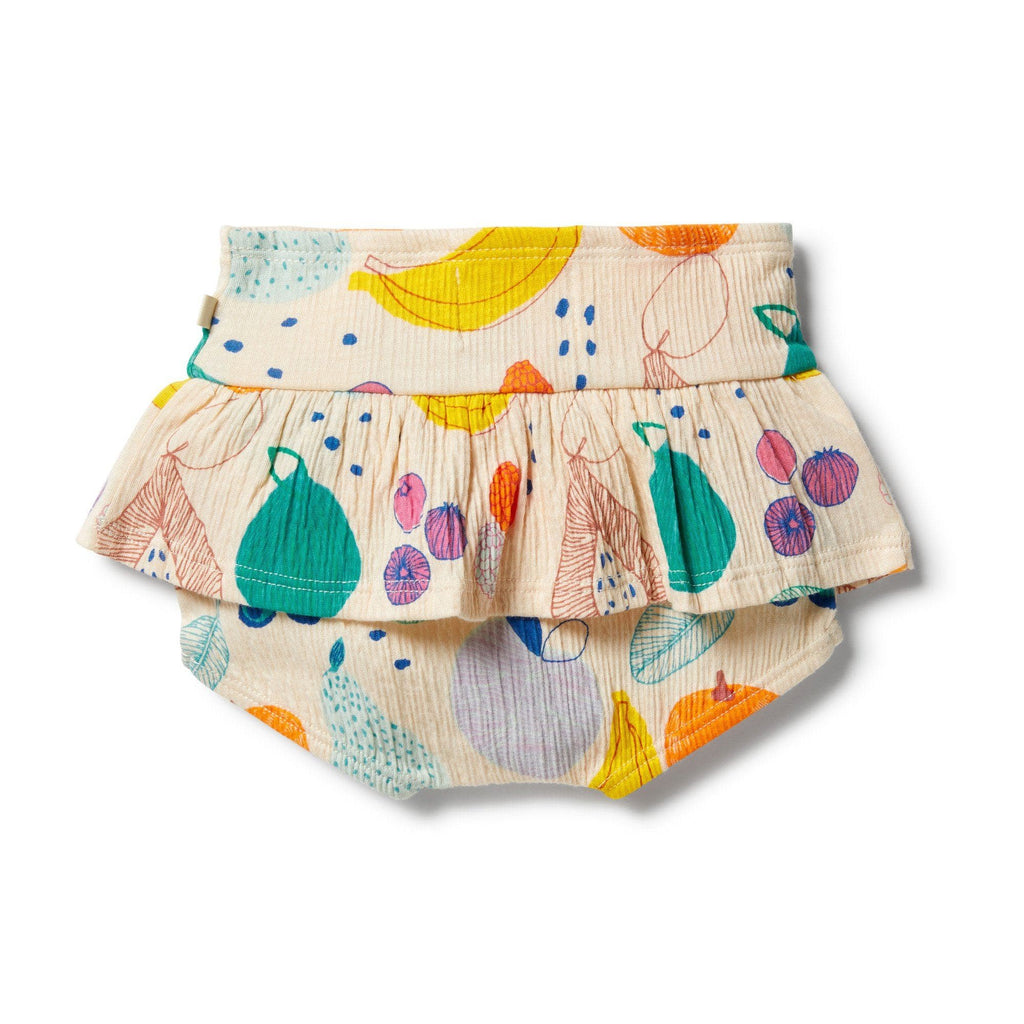Wilson and Frenchy Fruit Loop Crinkle Ruffle Nappy Pant