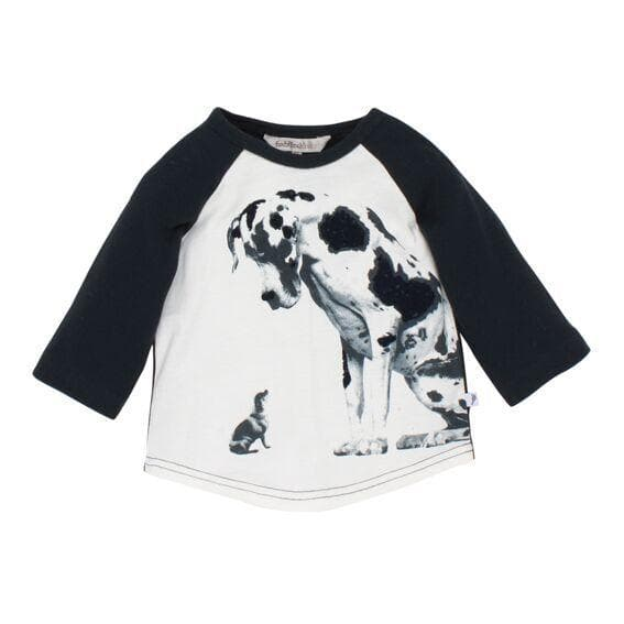 FOX & FINCH Giant Big Dog & Small Dog Tee