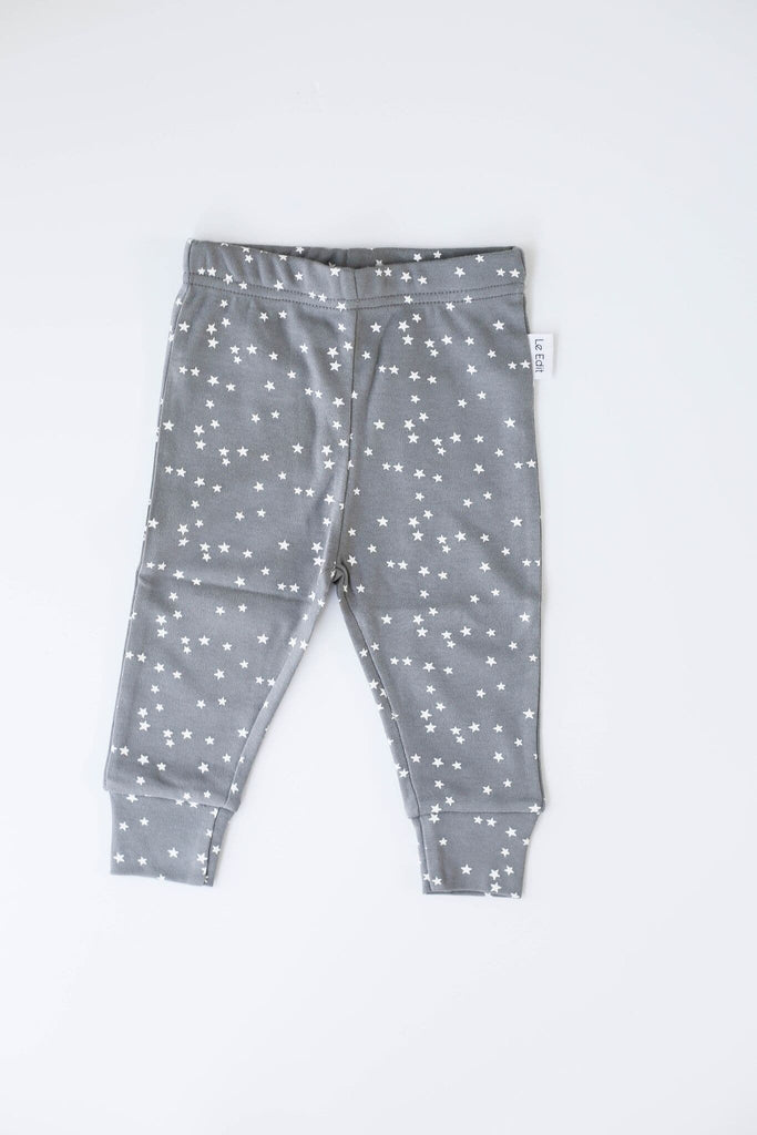 Grey Stars Leggings Leggings Le Edit