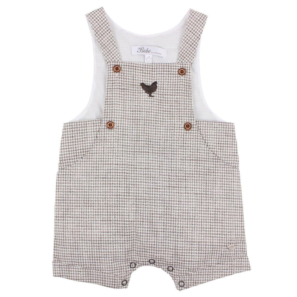 Bebe Henry Check Overalls