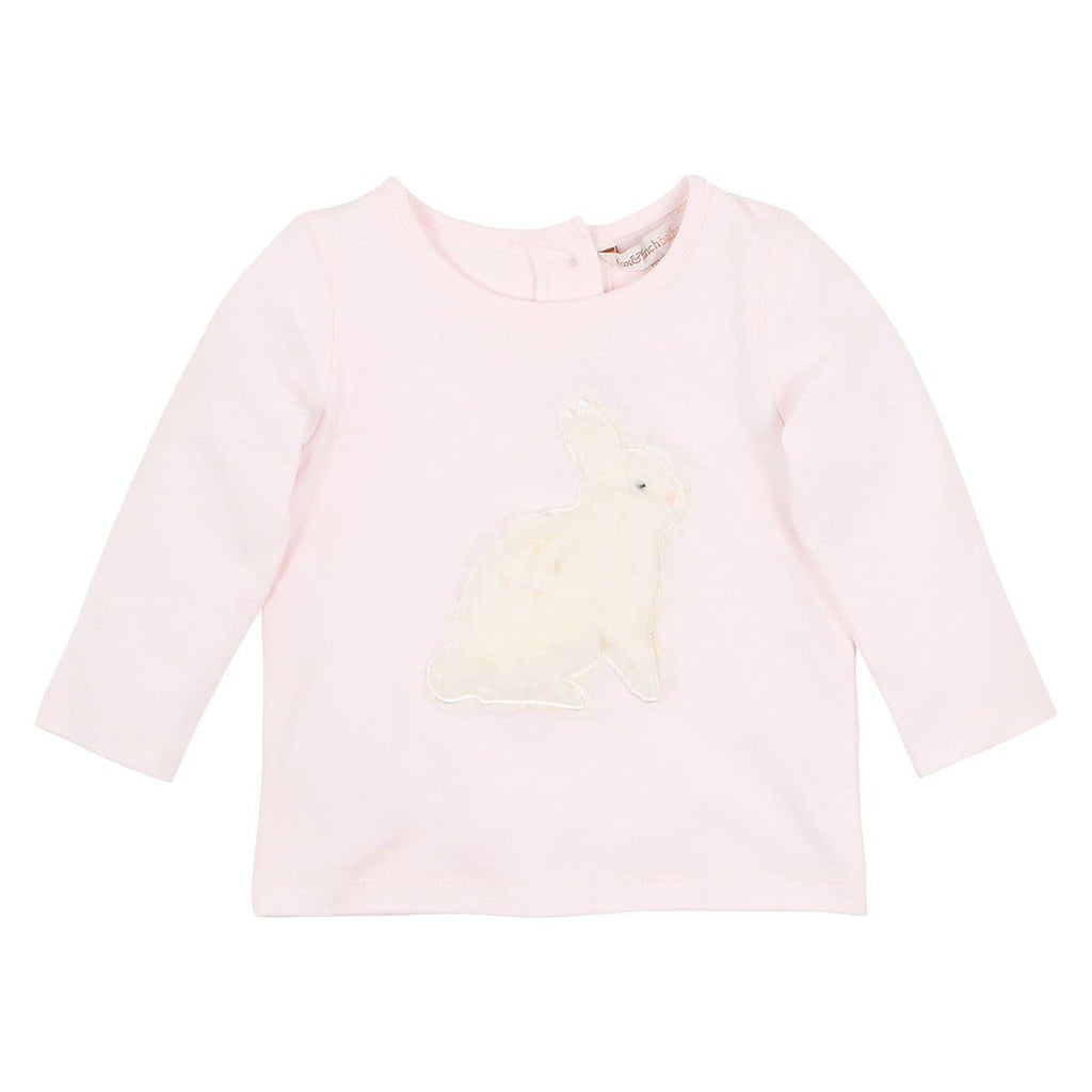 FOX & FINCH Hop Applique Bunny Tee