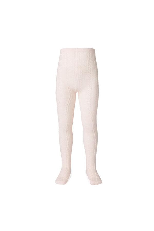 Jacquard Tights - Pink (Milky Baby) Tights Milky