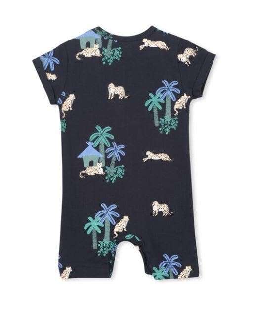 Jungle Romper (Milky Baby) Rompers Milky