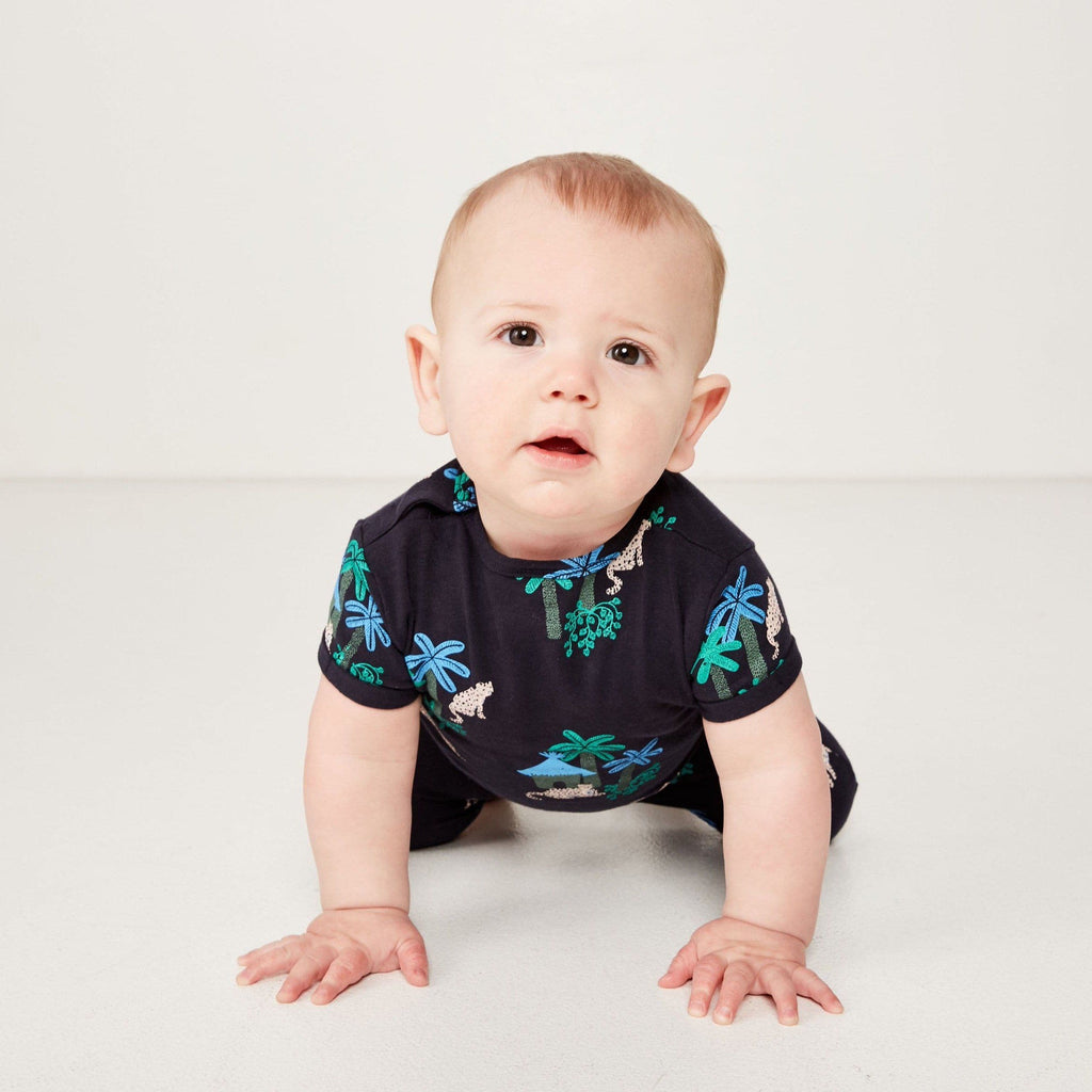 Jungle Romper (Milky Baby