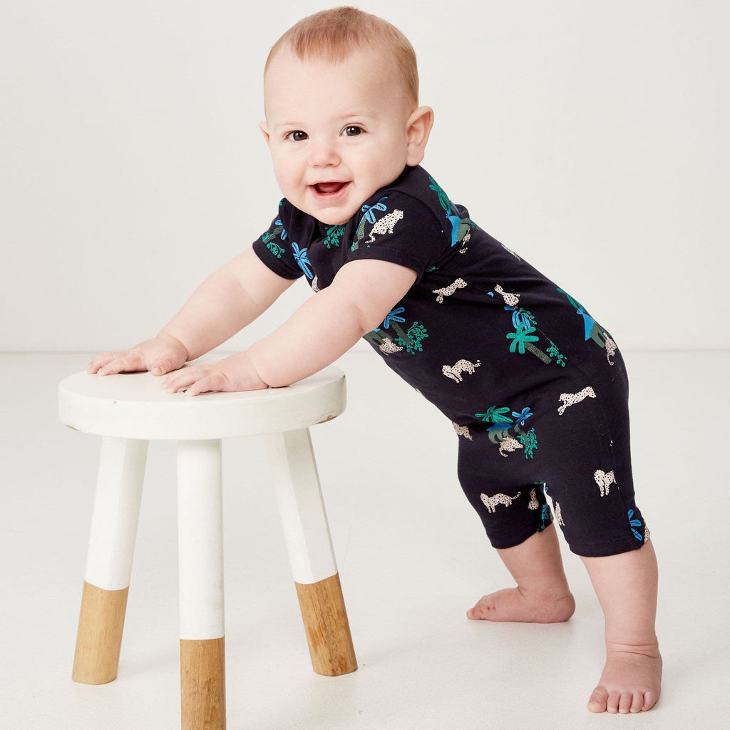 Jungle Romper (Milky Baby)