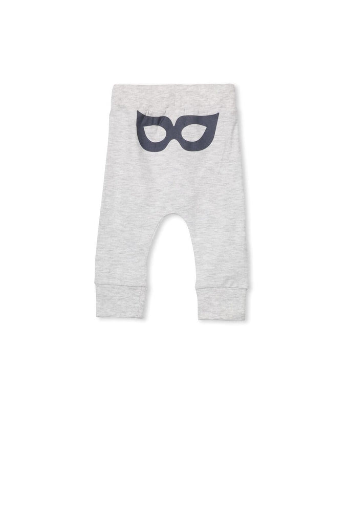 Mask Pant - Silver Marle (Milky Baby) Pants Milky