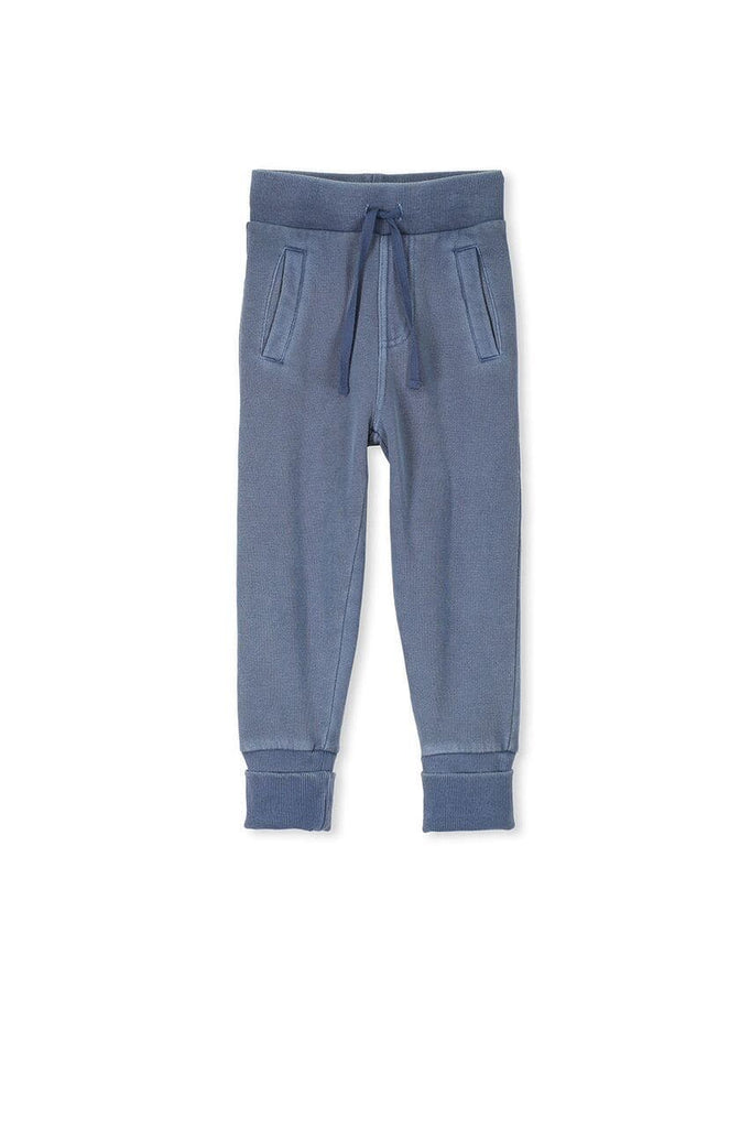 Relax Track Pant - Washed Blue