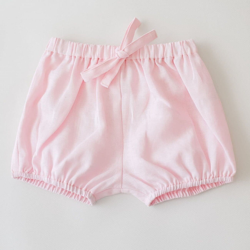 Two Darling Rose Linen Bloomers