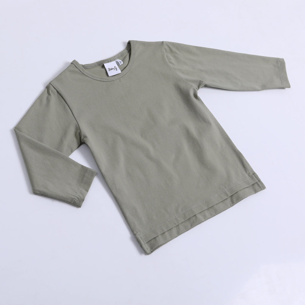 Bobby G Sage Long Sleeved Tee