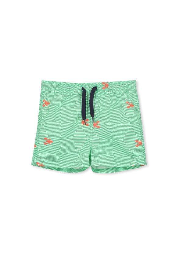 Seaside Boardies (Milky Baby) Swimwear Milky