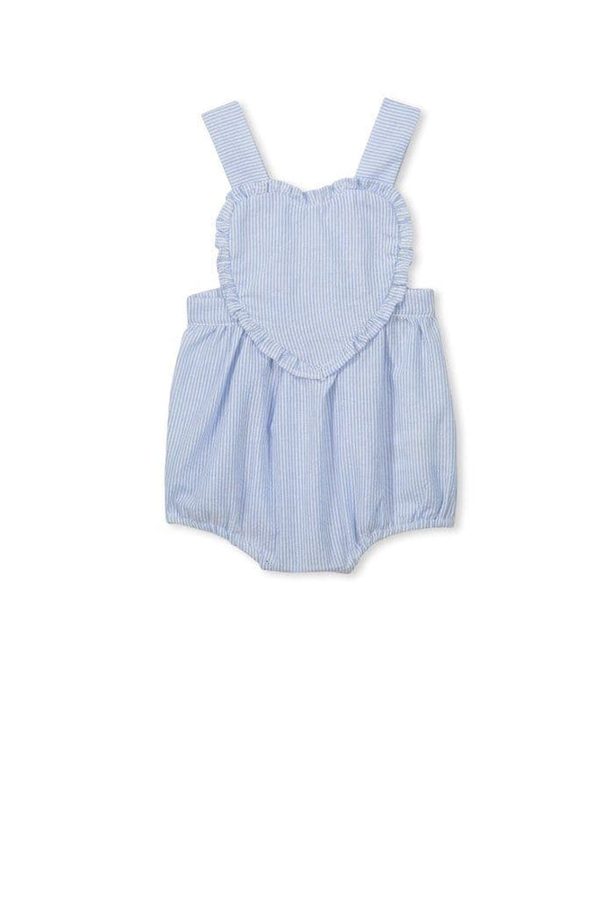 Seer Sucker Playsuit (Milky Baby) Playsuits Milky