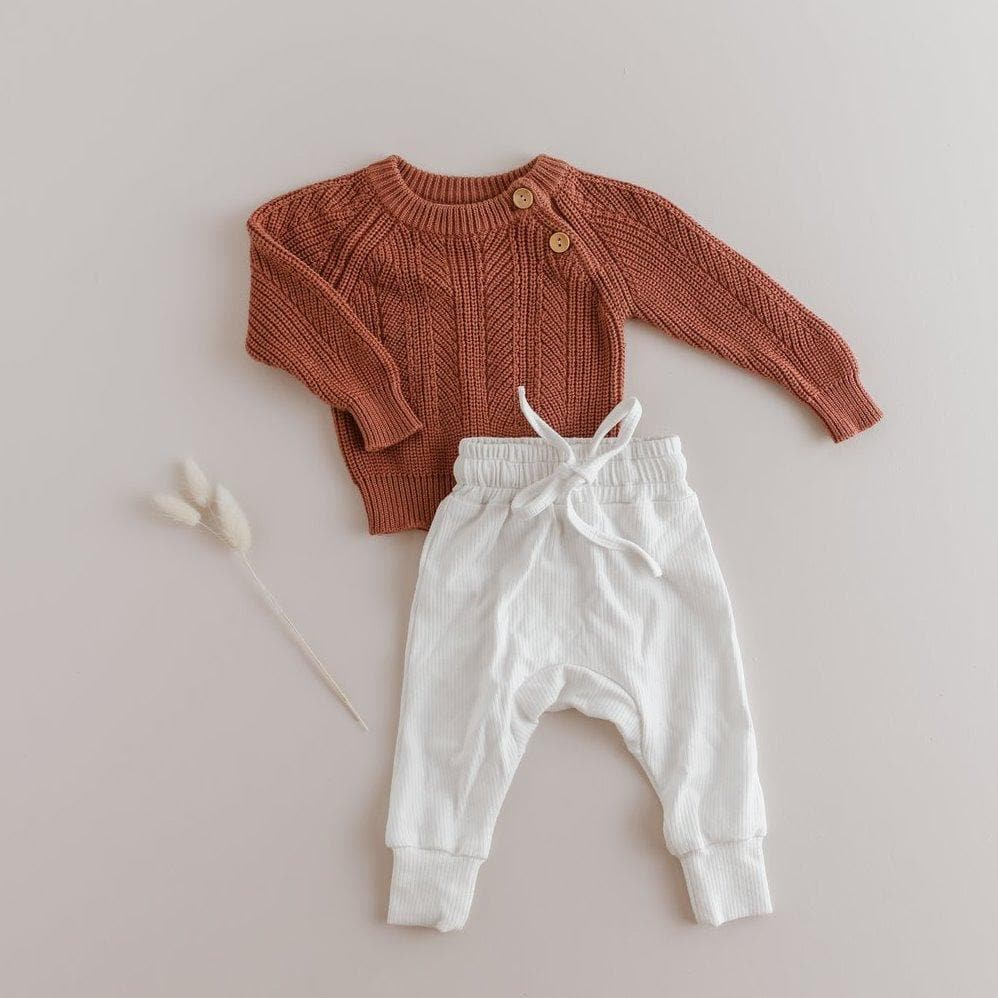 Two Darling Terracotta Sweater