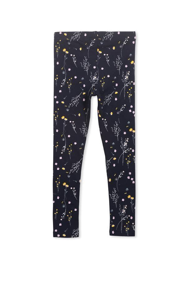 Winter Floral Legging (Milky Baby) Pants Milky