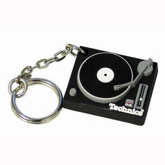 Key Ring -Technics Deck Keyring  (BLACK) | Technics !!