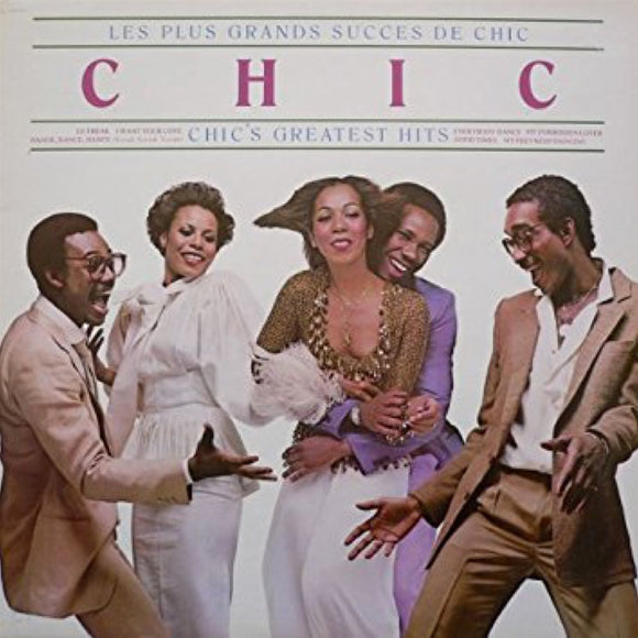 Chic - Les Plus Grands Succes De Chic/Chic's Greatest Hits (140g LP re-issue + original sleeve artwork, originally released 1979)  (LP)
