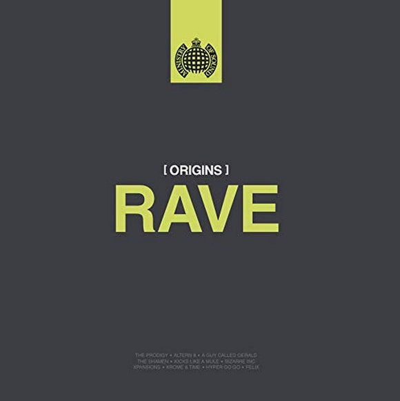 Various Artists - Origins of Rave – Ministry of Sound  [2 × Vinyl, LP, Compilation**