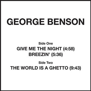 George Benson -Give Me The Night   [classics Tip!!