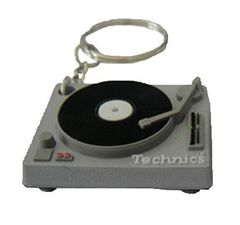 Key Ring  -Technics Deck Keyring (GREY) | Technics
