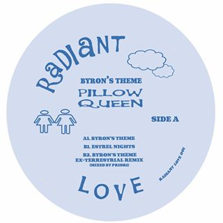 PILLOW QUEEN - BYRON'S THEME EP  [ D. Tiffany who threw down a ruthless remix !! Repress