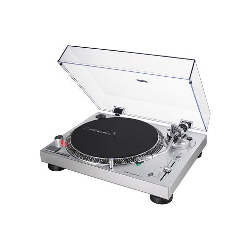 Audio-Technica Record Player Professional Turntable (USB & Analog) AT-LP120X-USB - Silver ** (new)