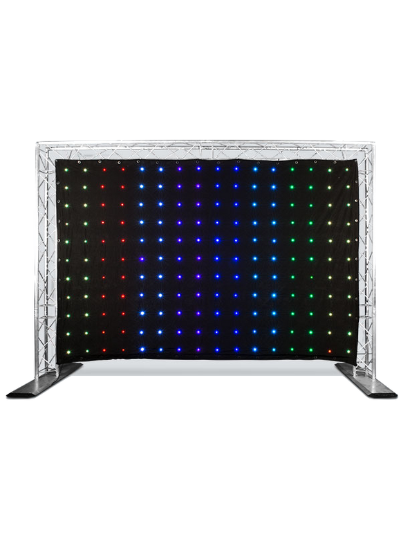 HIRE - Chauvet DJ MotionDrape LED Tri Coloured Curtain (3m x 2m) - does not include truss
