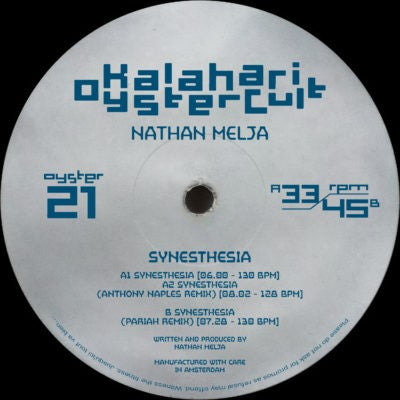 Nathan Melja - Synesthesia (w/ Anthony Naples & Pariah Remixes)  banger!!