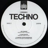 Various Artists - ORIGINS OF TECHNO -MINISTRY OF SOUND  2 × Vinyl, LP, Compilation  **