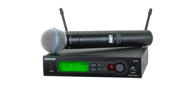 HIRE - Shure SLX Beta58 Wireless Vocal System