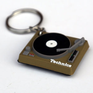 Key Ring  -Technics Deck Keyring [GOLD] | Technics