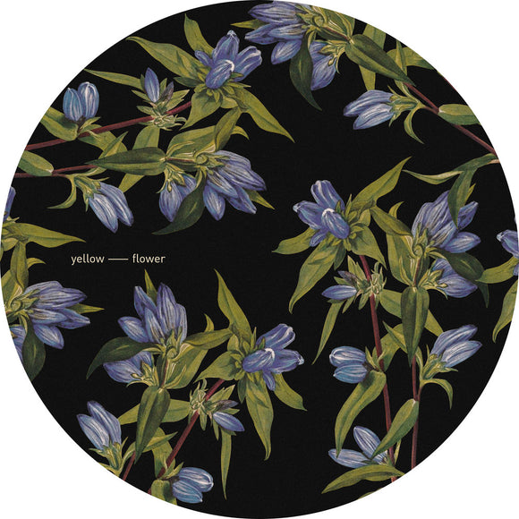 Yellow Flower - Slipmats  {pair}