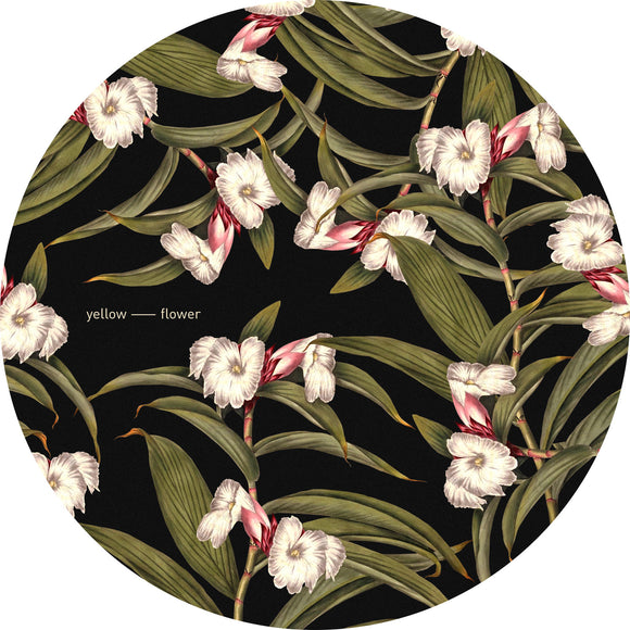 Yellow Flower -Slipmats   (Pair)