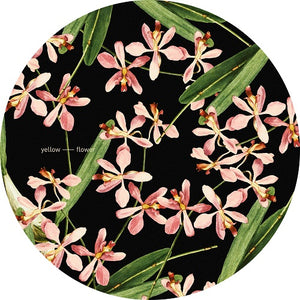 Yellow Flower - Slipmats  (Pair)