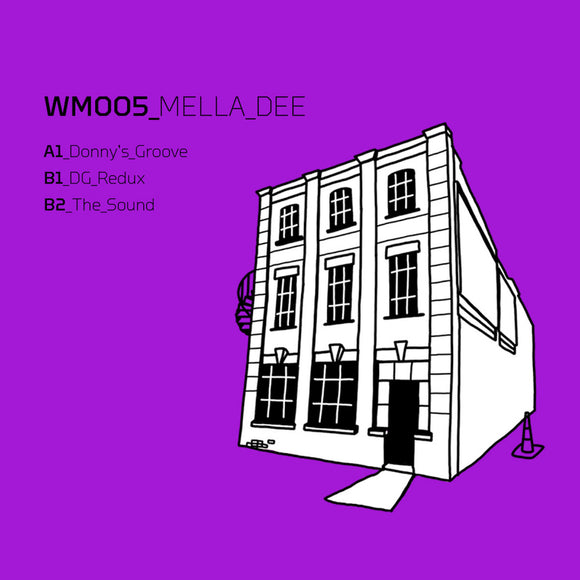 Mella Dee - Donny's Groove  [House, Disco, Warehouse !! LTD copies only !!