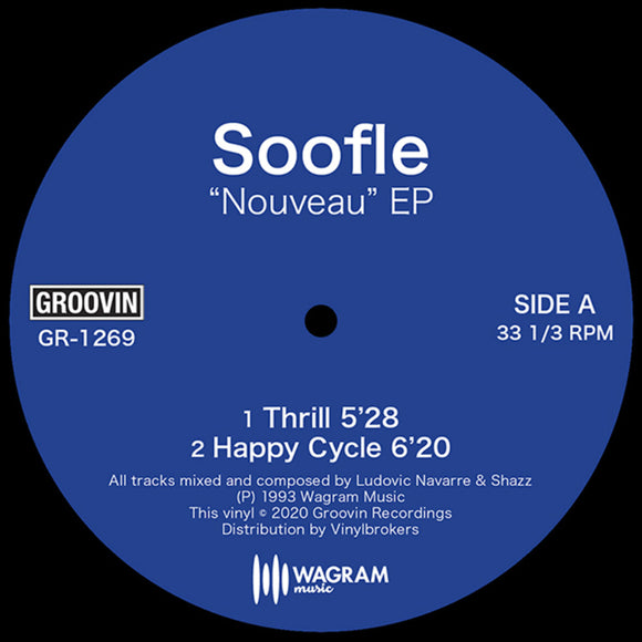 Soofle -Nouveau EP  ....[Early 90's production by Shazz and St. Germain  Released: 1993   **epic tune