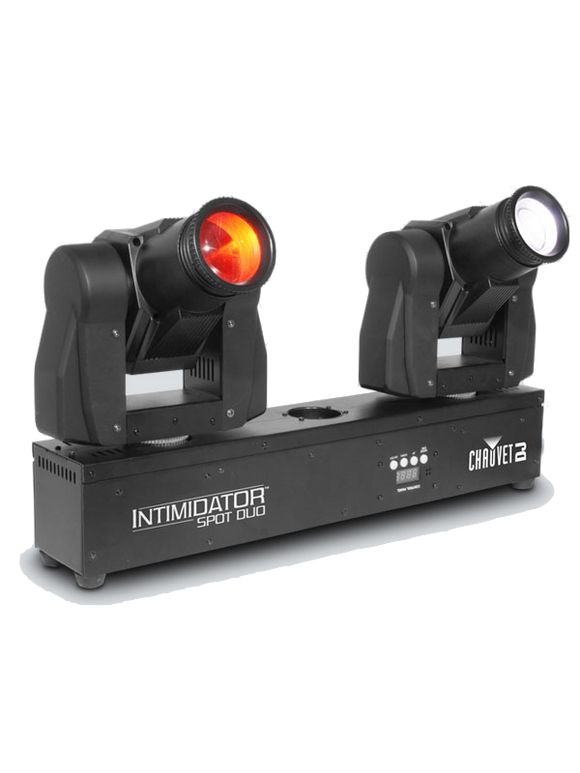 HIRE - Chauvet DJ Intimidator Spot LED Duo Dual Moving Head