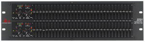 HIRE - DBX 2231 Graphic Equalizer / Limiter with Type III