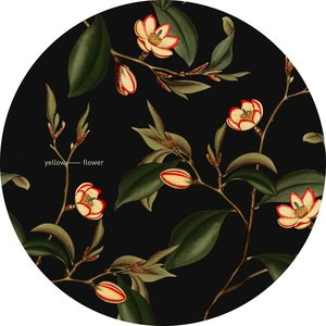 Yellow Flower  -Slipmats  {pair}