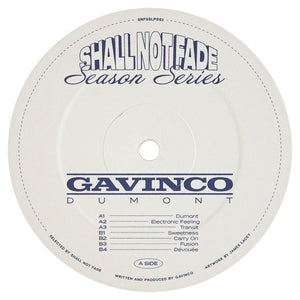 Gavinco  -Dumont LP **    [first long-play release] Deep House Grooves.