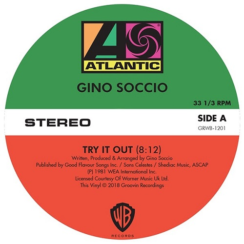 Gino Soccio - Try It Out / Dancer / It's Alright (3 killers classicis !!