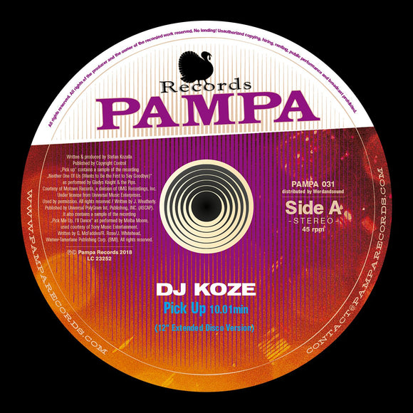 Dj Koze -Pick Up  (big buzzing beast of a track 100% pure grooves *