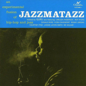 GURU - Jazzmatazz Volume 1 [classic album back on standard weigh vinyl.*** HUGE TIP!!