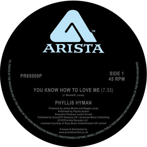 Phyllis Hyman -You Know How to Love Me (Long Version) /Living Inside Your Love ! classic !!