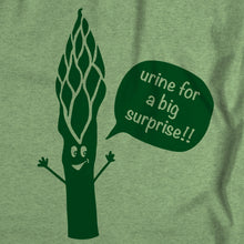 "Wholesale ""Urine for a big surprise!"" Asparagus T-shirt"