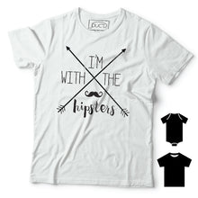 I'm with the hipsters T-shirt