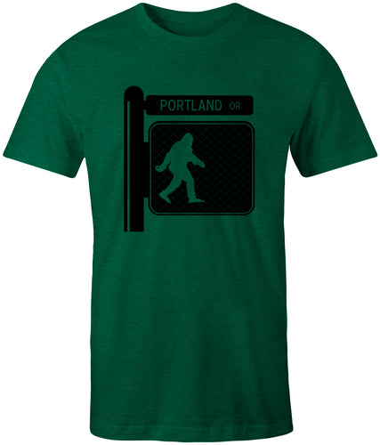Sasquatch Crossing T-shirt Portland