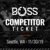 BoSS Gloving Competition (Seattle, WA - 11/30/19)