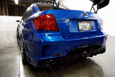 Subaru WRX / STI Sedan Tail Light Full Overlay